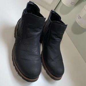 🏷 SALE❗️boc women's slip on black boots sz.10